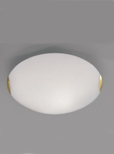 Franklite CF5023 Brass Flush Light